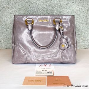 Miu miu Grey Borsa A Mano Satchel / Crossbody bag